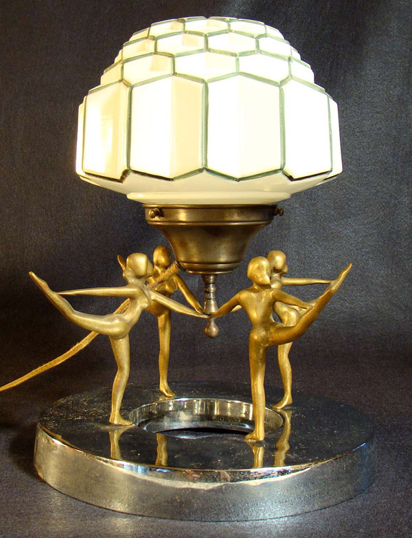art deco jewelry store display lamp. Black Bedroom Furniture Sets. Home Design Ideas